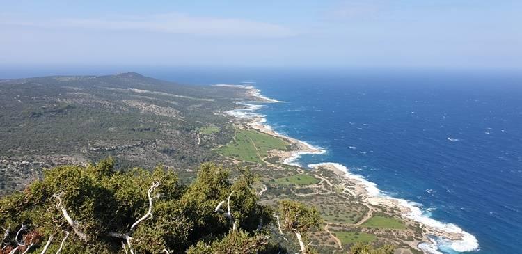 Tooer Blick auf Zypern Latci Paphos Blue Lagoon