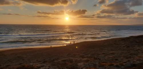 Sonnenuntergang Paphos in Mai 2019
