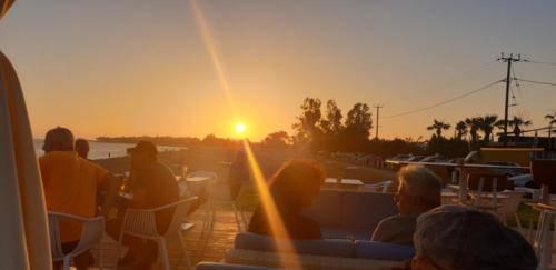 Sonnenuntergang 2019 auf Zypern Geroskipue