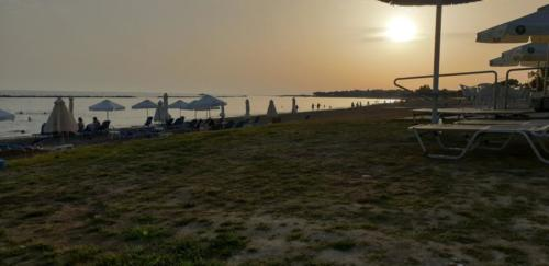 Sandy Beach - Sonnen Untergang in Paphos 2019