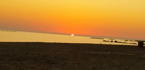 Paphos Zypern - Sonnenuntergang 2019.
