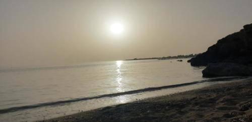 SODAP Beach Paphos Sonnenuntergang