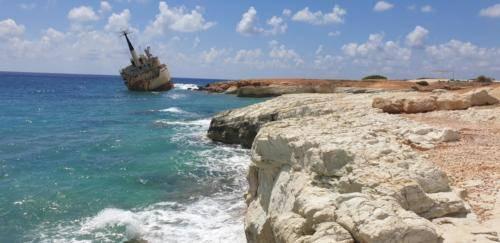 Zypern Schiff Wrack